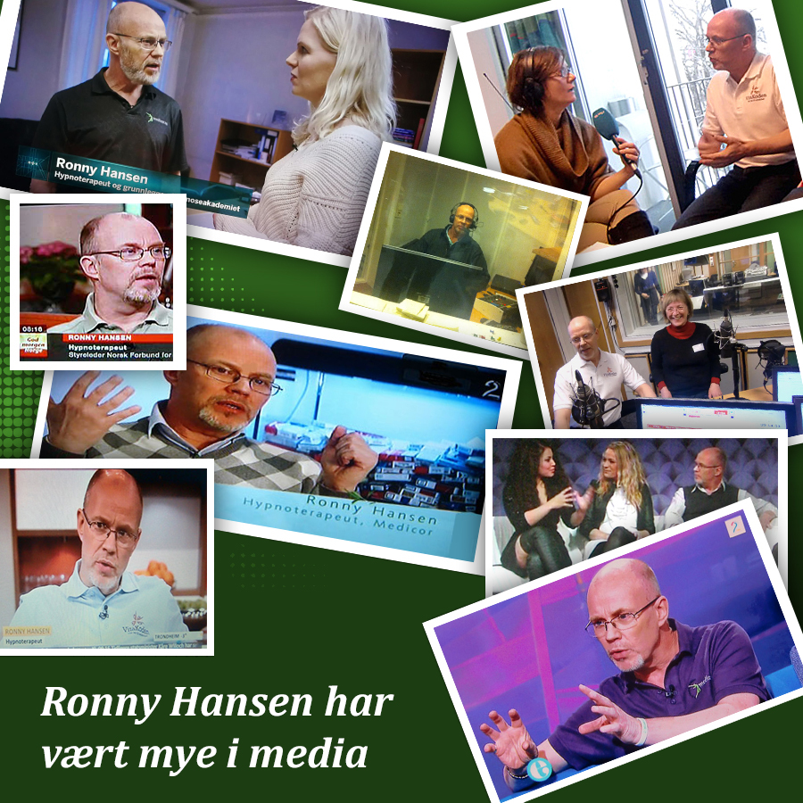 Ronny Hansen i media